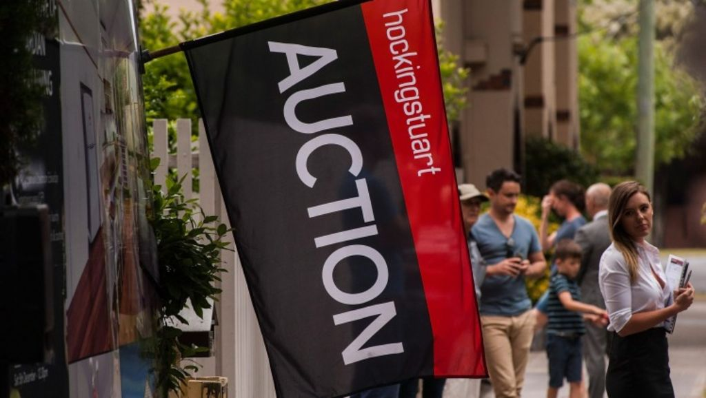 The property watchdog is investigating a Hocking Stuart agency in Richmond for suspected underquoting. Photo: Josh Robenstone