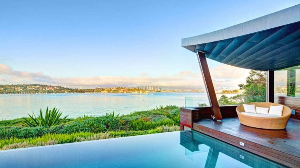 Brett Blundy's house at 19 Bayview Hill Road, Rose Bay, is about to hit the market for $45 million. Photo: Supplied