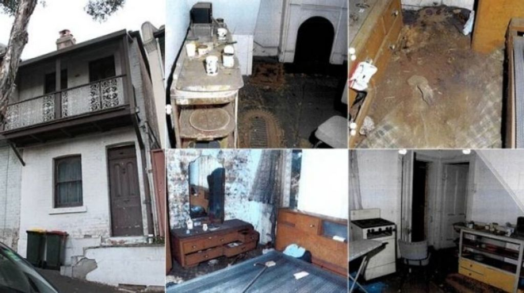 The exterior and interior of where Natalie Wood lived. Photo: NSW Police Force