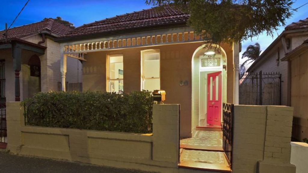 30 Juliett Street, Enmore - already a stand-out in the market, but the agent had some suggestions to make it even more eye-catching.