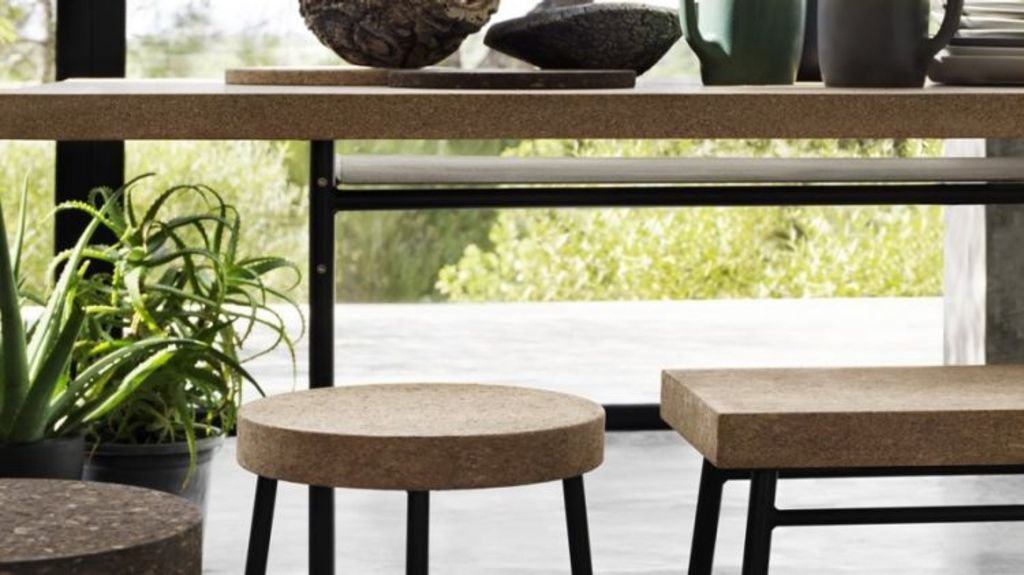 What a corker! Cork looks great, is durable and is very eco-friendly. Photo: IKEA