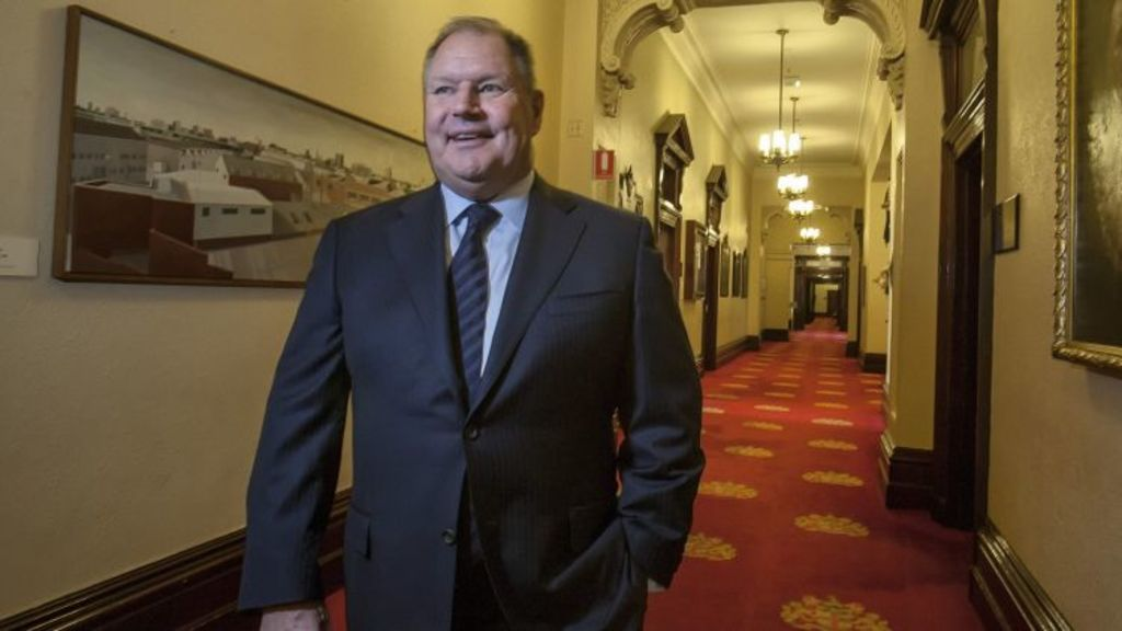 Melbourne Lord Mayor Robert Doyle at the Town Hall. Photo: Luis Ascui