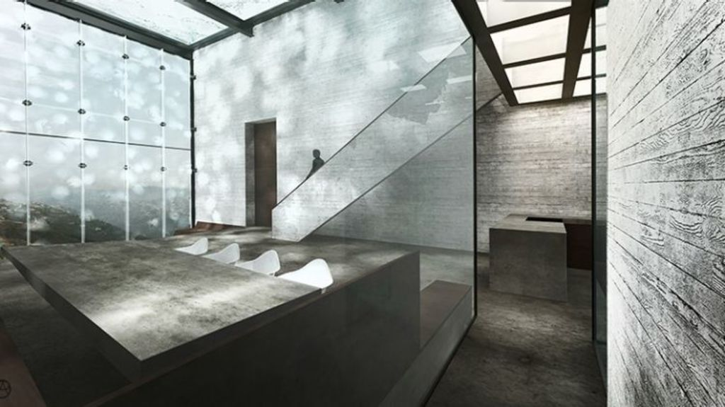 The interior of the building. Photo: Rendering by OPA.