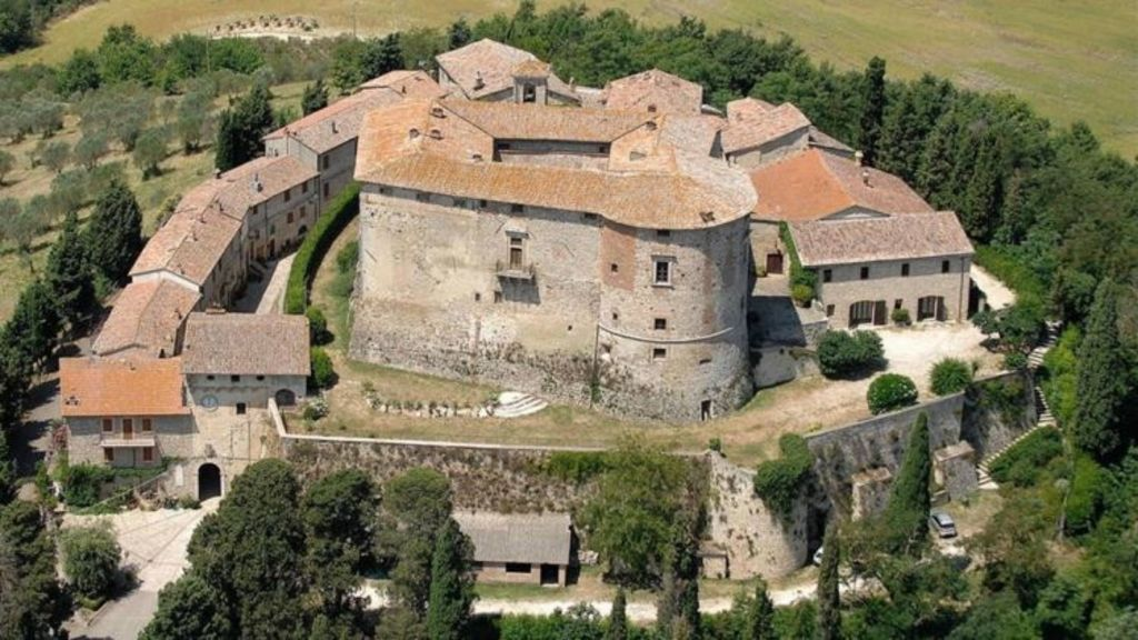 Rule your own kingdom: Castle di Sismano in Todi, Italy, comes with its own village. Photo: Douglas Elliman Real Estate