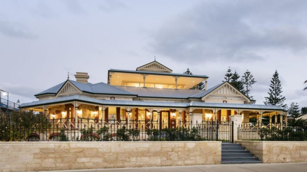 Le Fanu House once again proudly looks over Cottesloe Beach. Photo: Joel Barbitta
