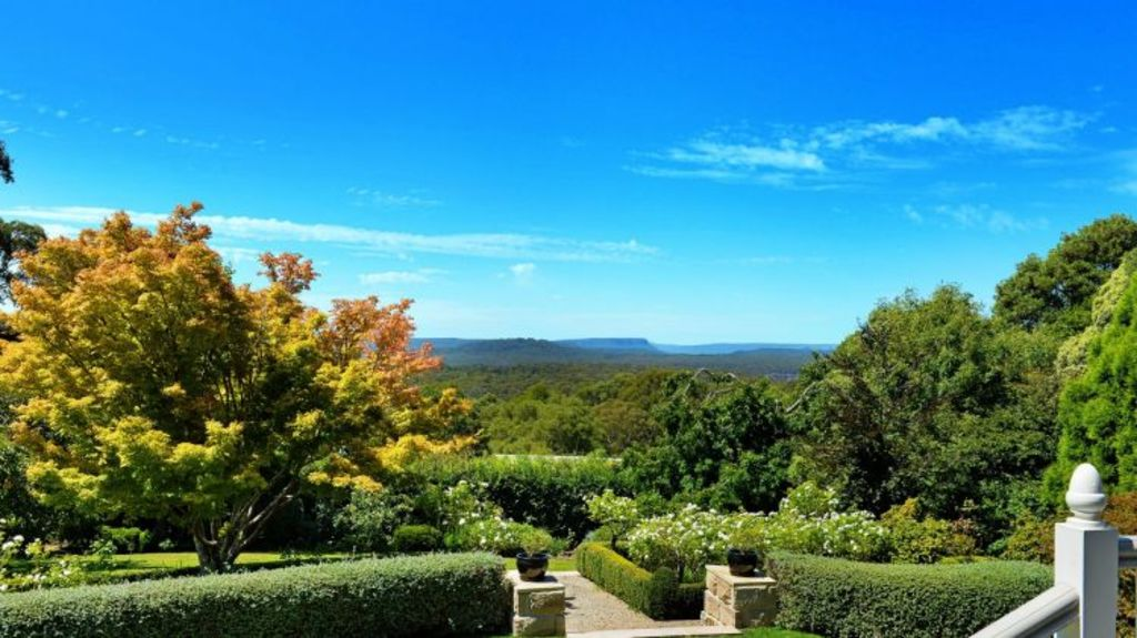 The verandah has views towards Morton National Park. Photo: domain.com.au