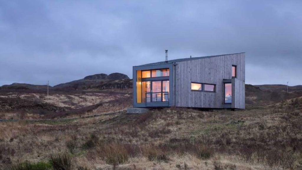 If you can't quite afford to build your dream house, you can stay in one for the weekend.