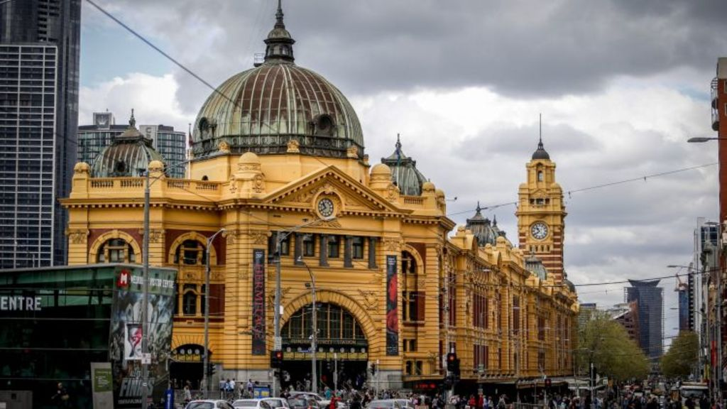 The neglect of this city icon is Victoria's biggest embarrassment of urban space neglect. Photo: Eddie Jim