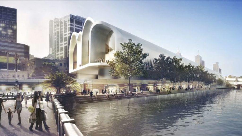 A closer look at the winning design, complete with arches. Photo: Supplied
