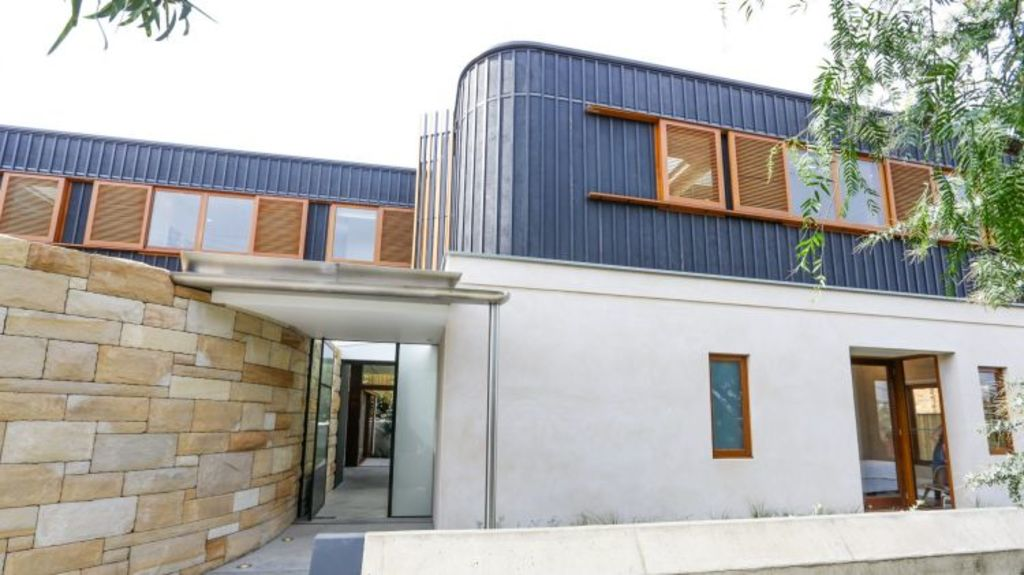 The house designed by Alex Roth at 145 Arden St, Coogee, bought by the Alam family on Saturday for $3.57 million. Photo: Dallas Kilponen