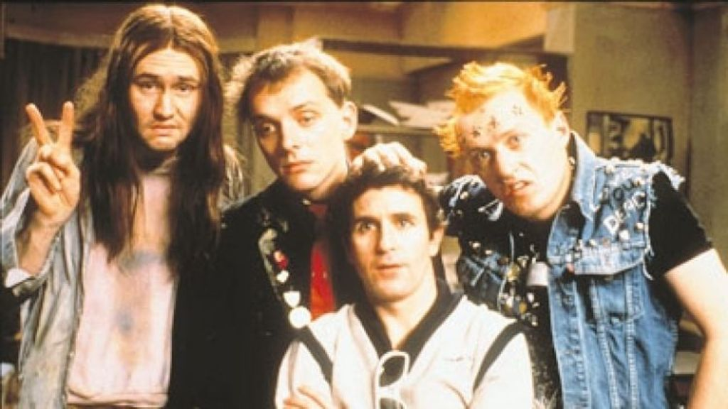 The Young Ones wasn't too far from the truth.