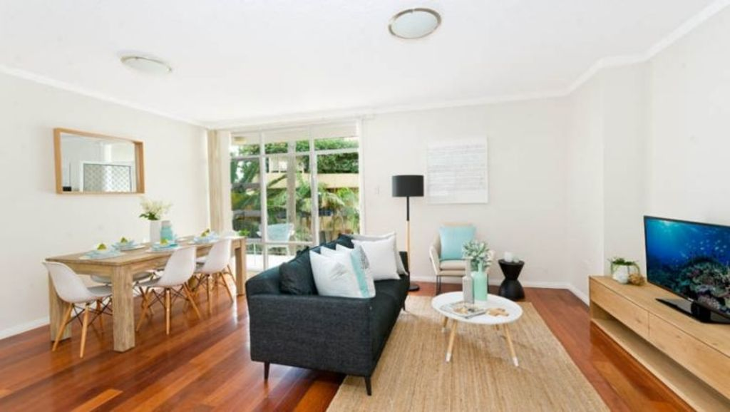 The pair bought a two-bedroom apartment in Sydney's Cronulla for $710,000.