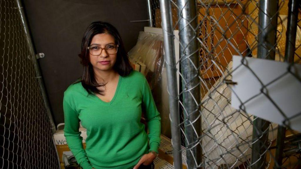 Jaymini Mistry had her storage cage robbed twice. Photo: Pat Scala