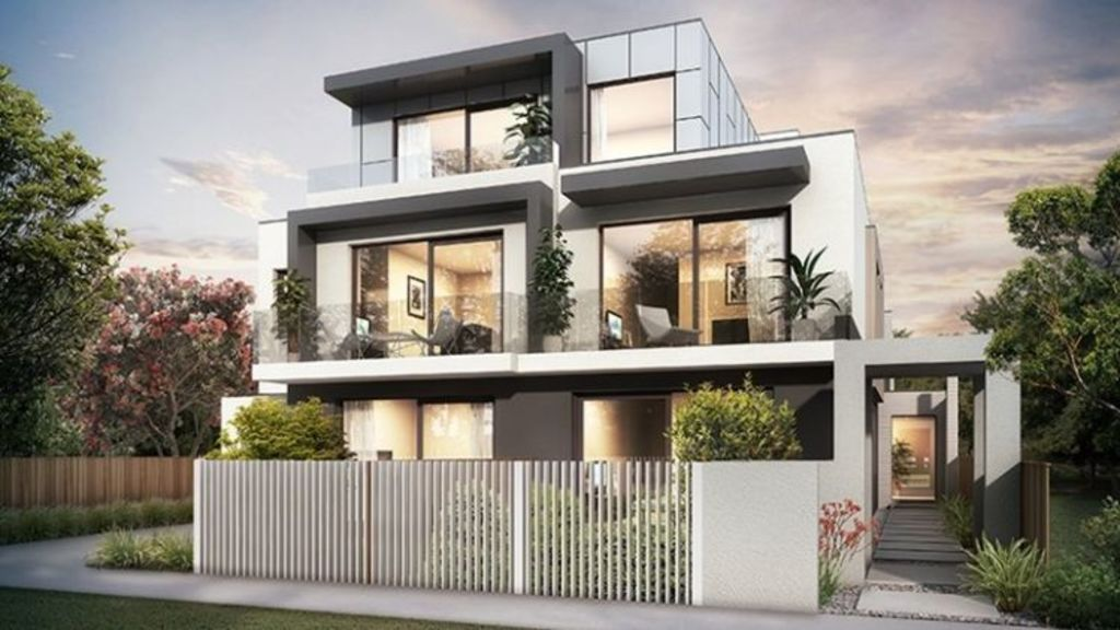 Growing concern: The boutique apartment block planned for 13 Etna Street, Glen Huntly. Photo: Supplied