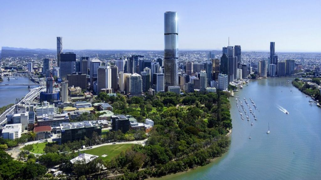 Brisbane's Skytower will offer spectacular views as well as luxury living in a great location. Photo: Supplied
