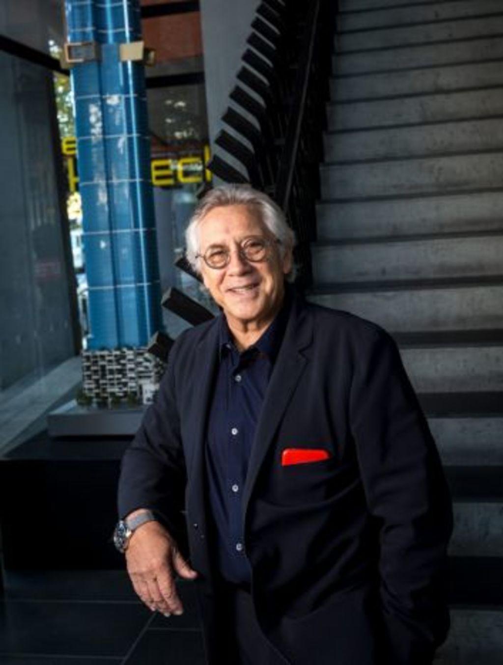 Architect Karl Fender. Photo: Eddie Jim