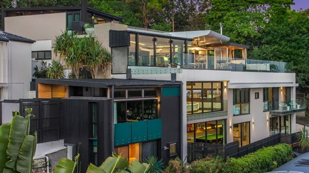 The four-story house has been tipped to test Brisbane's record sale price. Photo: Supplied