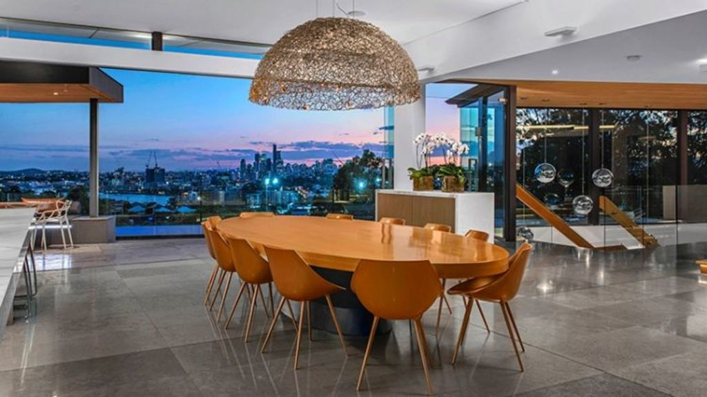 Uninterrupted city views are one of the home's many features. Photo: Supplied