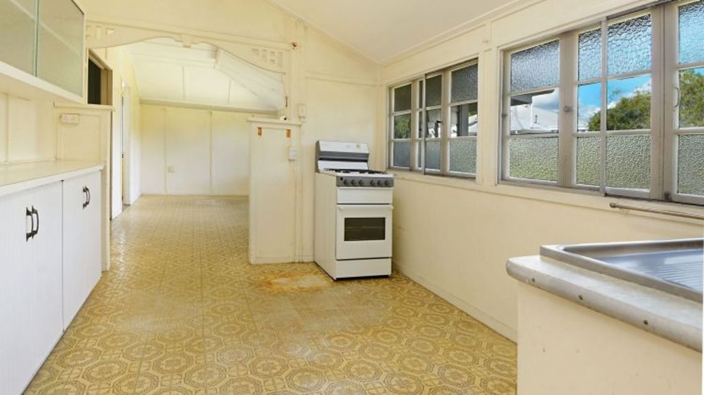 The old kitchen. Photo: Supplied