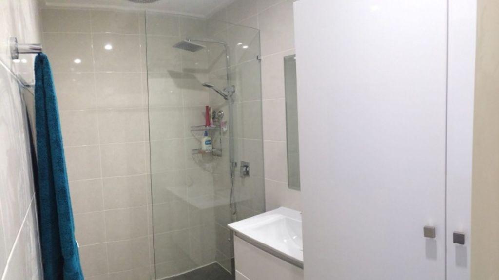 Bathroom after the reno job. Photo: Supplied