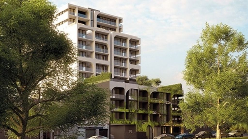 Artist's impression of Reflections in North Melbourne where Mahil and Manu bought a one-bedroom apartment for about $360,000 as an investment. Photo: Supplied