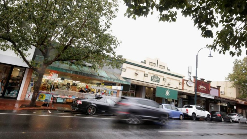 Pakington Street in Geelong is transforming as the local economy picks up. Photo: Darrian Traynor