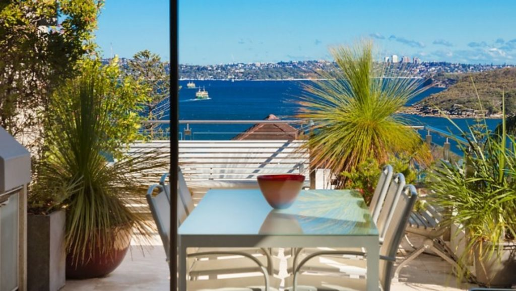 Landscape architect Bruce Mackenzie's Manly penthouse sold for $2,614,000, $314,000 over reserve through Clarke & Humel. Photo: Supplied