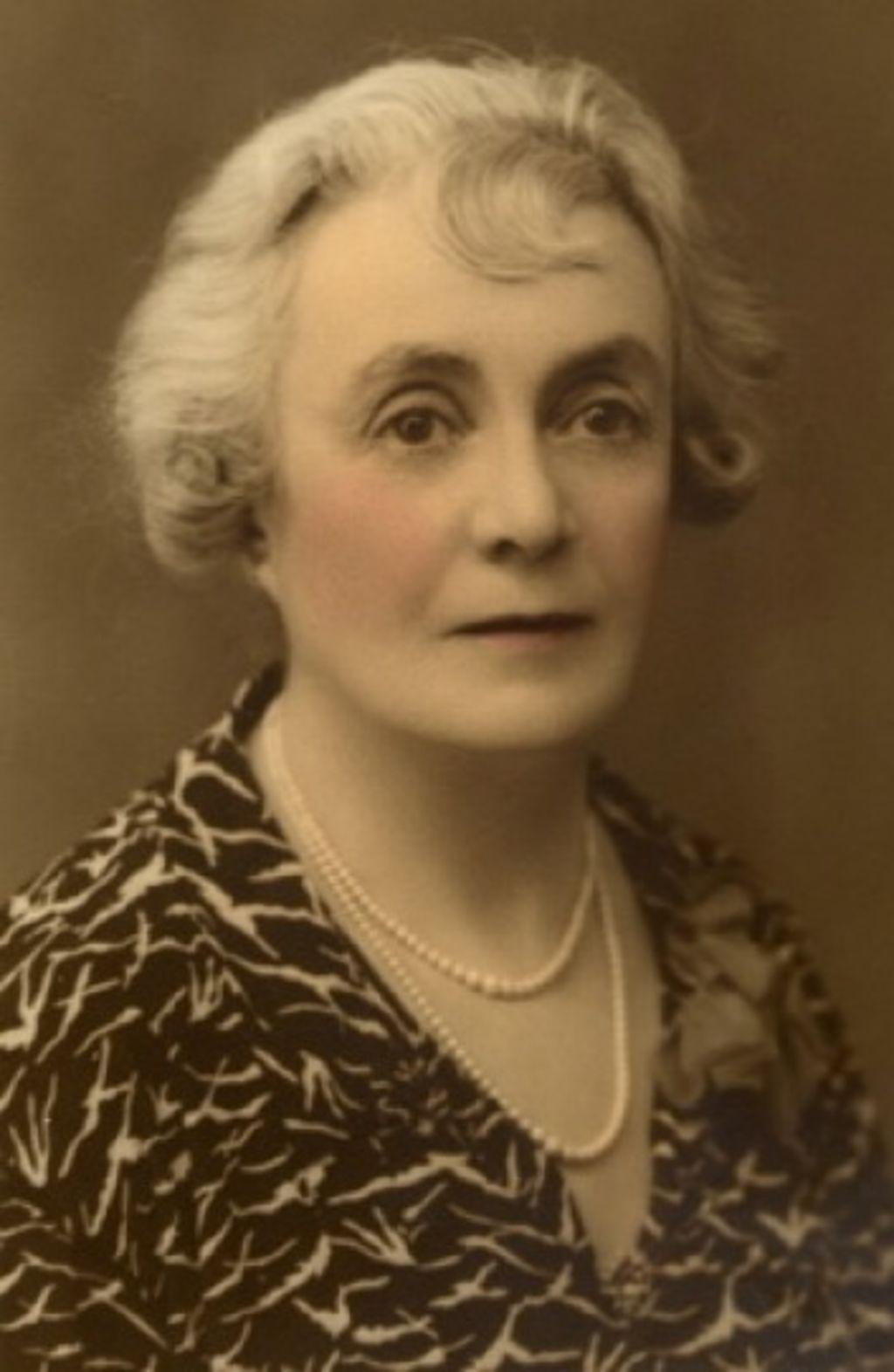 A portrait of Bessie Rischbieth, circa 1930s. Photo: Freeman