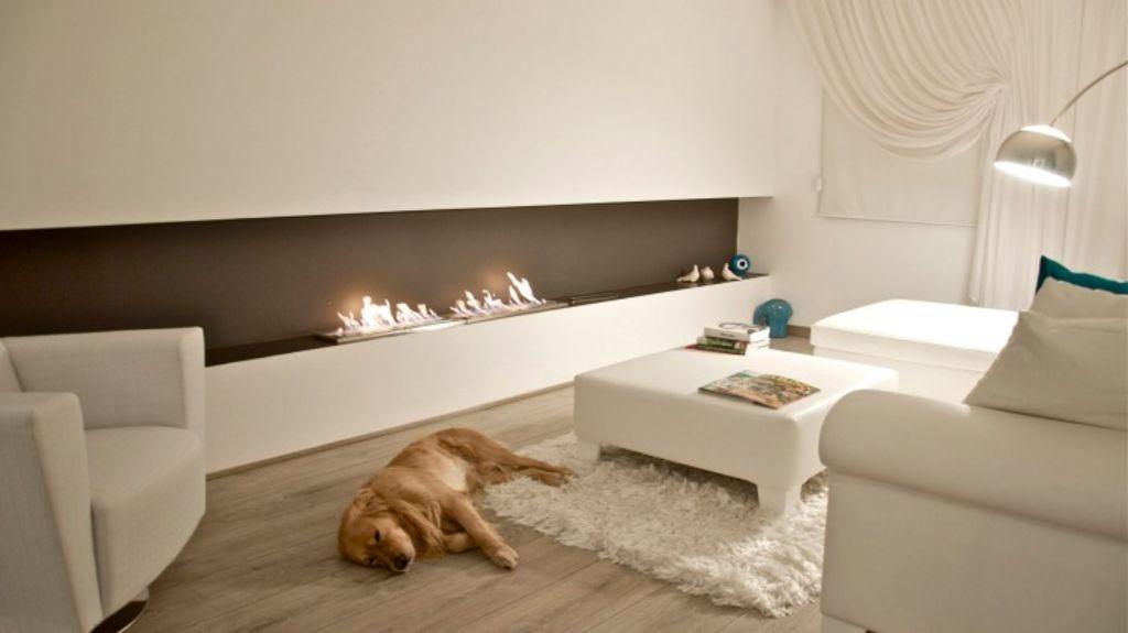 The XL900 Eco Smart fireplace. Photo: Eco Smart