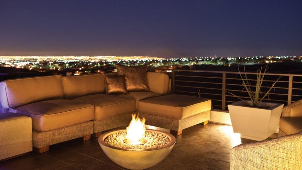 Balcony romance. Photo: Eco Smart