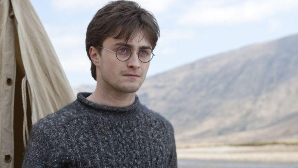 Harry Potter actor Daniel Radcliffe.