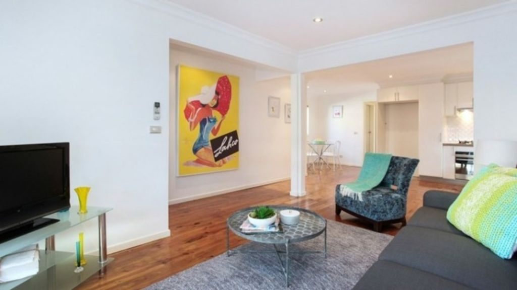 This three-bedroom house at 20 Greig Street in Seddon is asking $670,000-plus. Photo: Supplied