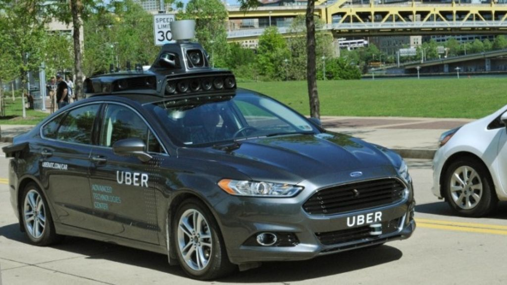 Uber recently tested a self-driving car in the US.