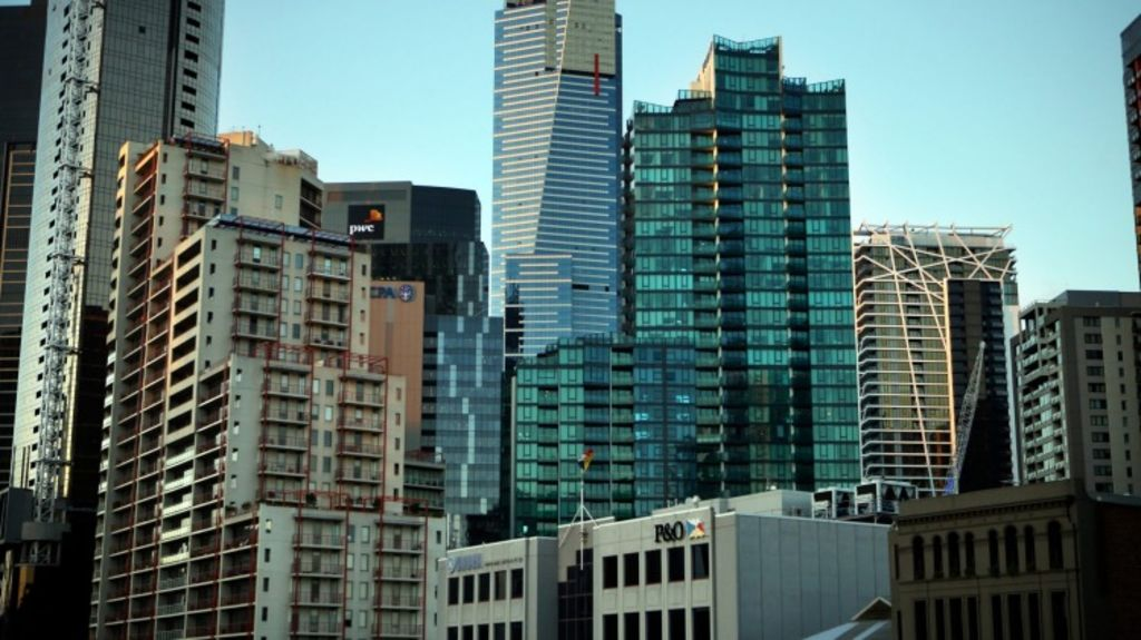 CBD, Docklands and Southbank apartments are the most expensive and smallest in Melbourne. Photo: Angela Wylie