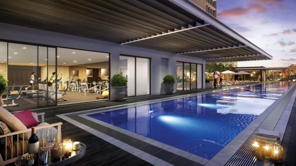 Asian Pacific Group's first Art Series hotel, the $155 million The Johnson, in Brisbane, will accommodate art by Sydney-born abstract artist Michael Johnson. Photo: Supplied