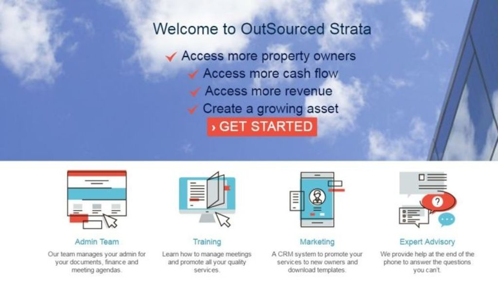 Strata Real Estate Services new software. Photo: outsourcedstrata.com.au