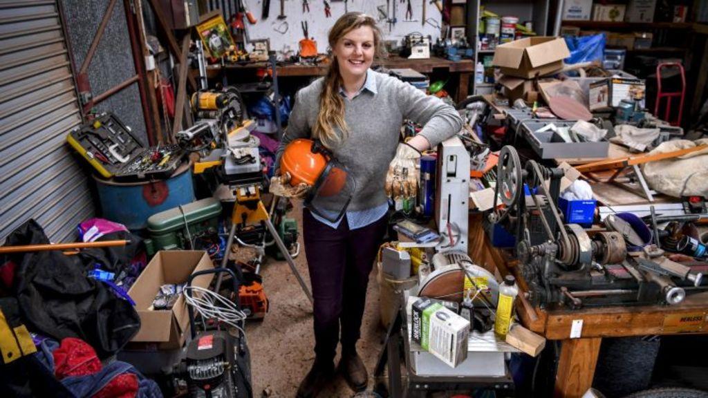 Eliza Henry-Jones in her workshop. Photo: Eddie Jim