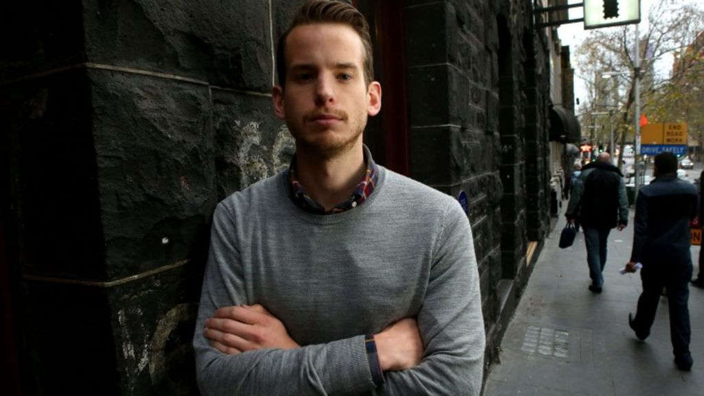Tom Alomes is struggling to be able to afford his first home as the Australian property market booms. Photo: Pat Scala