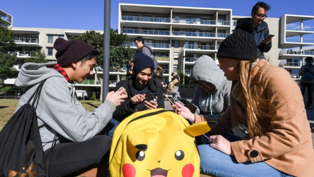 The City of Canada Bay wants two of three PokéStops at Peg Paterson Park in Sydney removed. Photo: Peter Rae