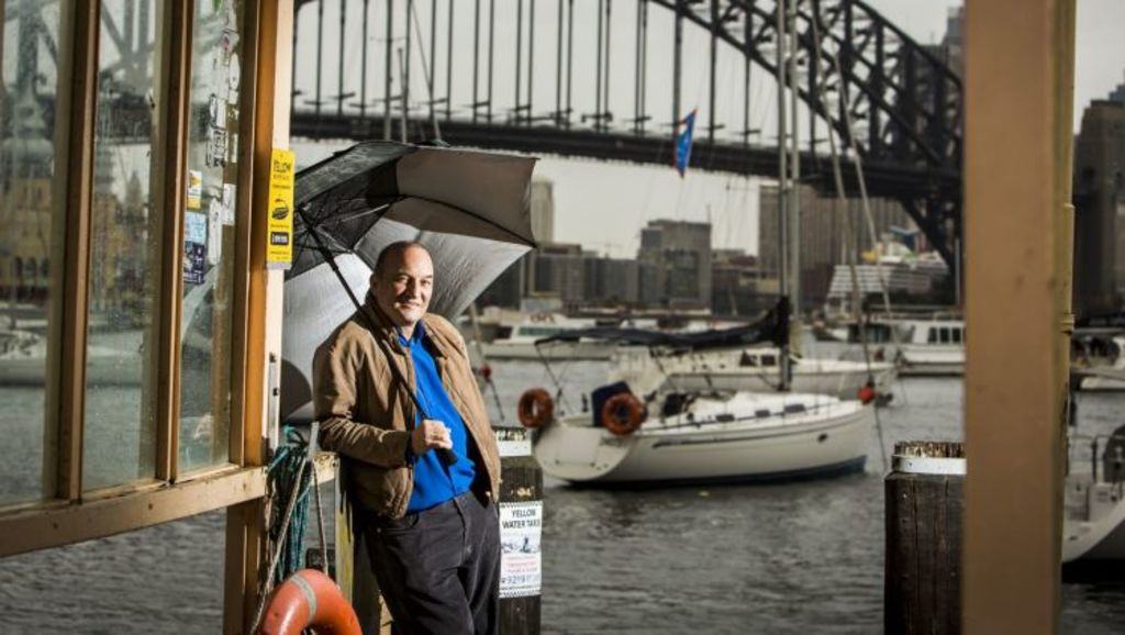 Michael Contos grew up in Lavender Bay and has now returned to live in Sydney's most liveable suburb. Photo: Anna Kucera