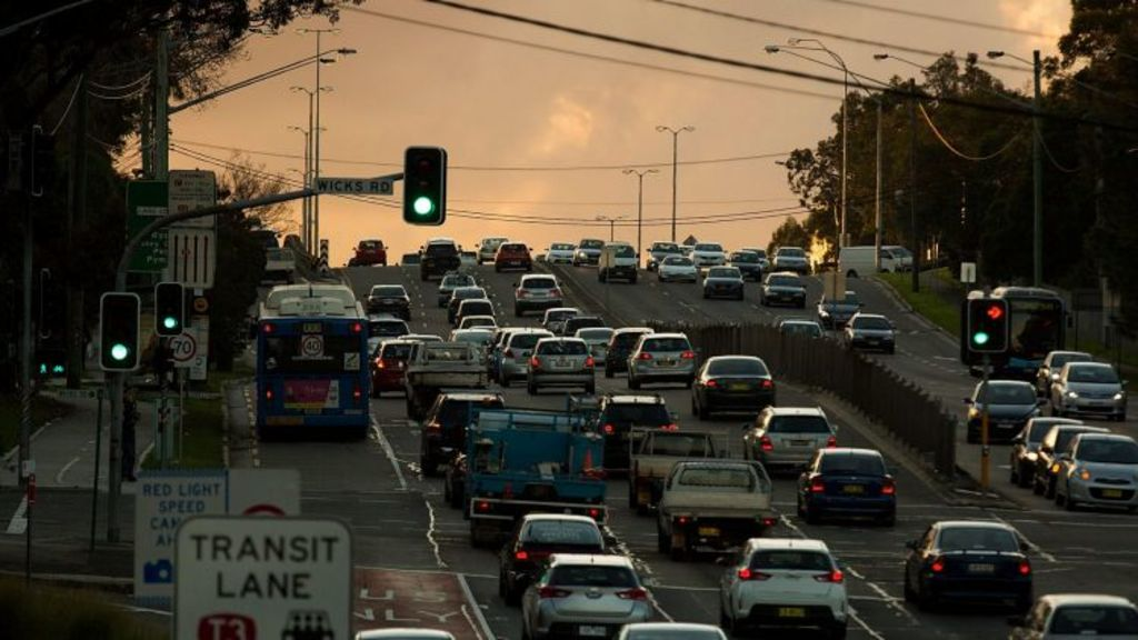 Epping Road is one of Sydney's most congested arterial routes at peak hour. Photo: Michele Mossop