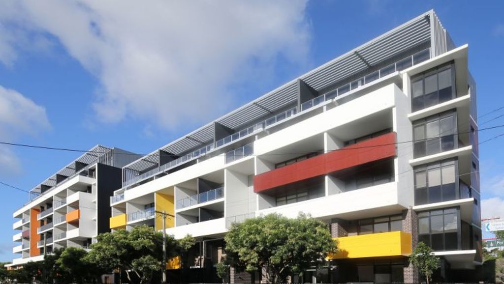 The 104 affordable accommodation units at the Exordium apartments in Zetland had all been leased out before the block was even finished. Photo: Supplied.