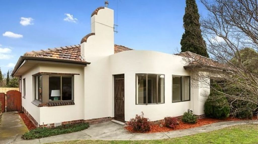 This three-bedroom house at 156 Patterson Road in Bentleigh also sold to a young family who saw it for the first time before the auction. Photo: Buxton