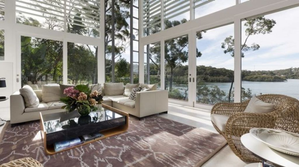 The most expensive sale of the weekend was 35 Bonnefin Road, Hunters Hill, which sold for $5.15 million. Photo: Bresic Whitney