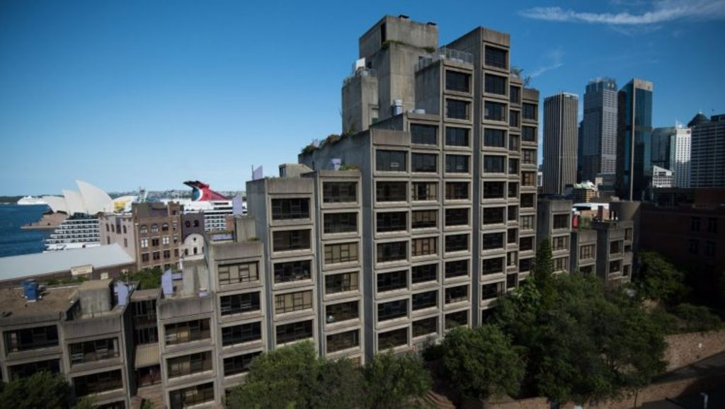 The Sirius public housing building will not be heritage listed Photo: Wolter Peeters