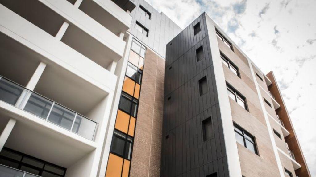 The Zetland affordable housing block where Lisa Ervasti lives. Photo: Supplied