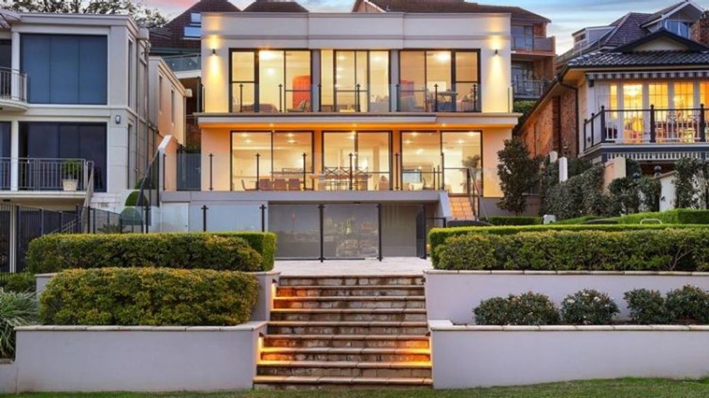 The most expensive sale of the week: 78 Wrights Road, Drummoyne, sold for $8.05 million. Photo: Ward Partners
