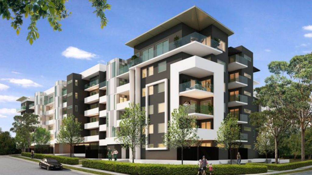 Artist's impression of the Mason Apartments, 1-11 Olive Street, Seven Hills. Photo: Supplied