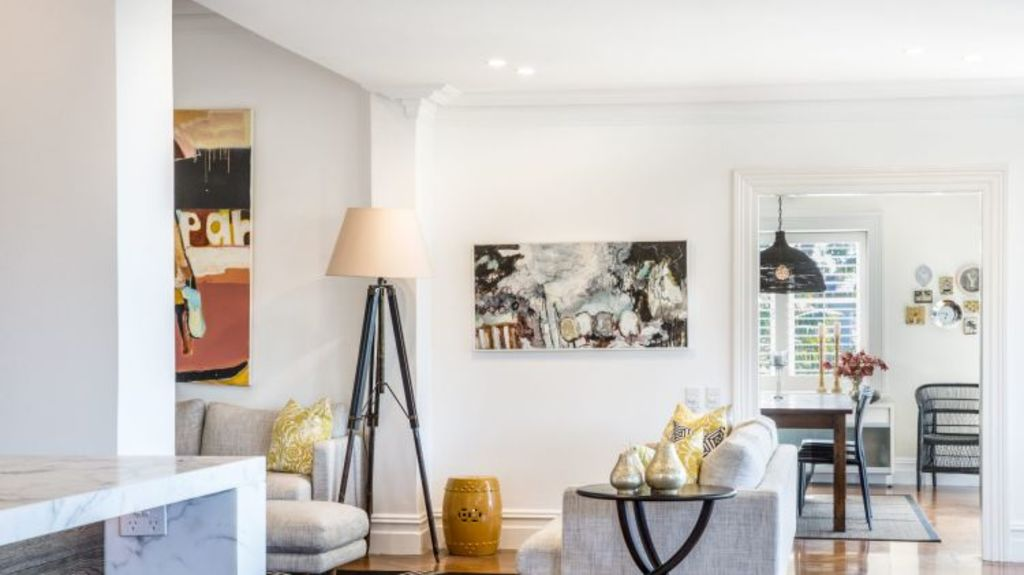 Oak floors and air condition are a feature at 151 Raglan Street. Photo: Domain.com.au