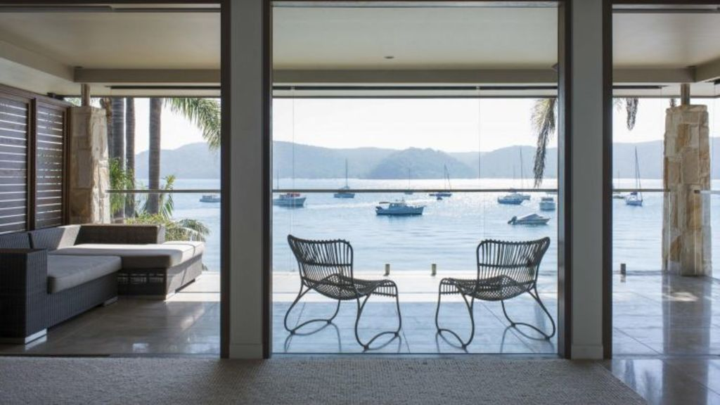 A five bedroom Pittwater address, for rent for more than $2000 a night. Photo: Luxico.com.au